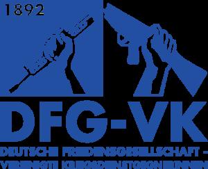 Log der Deutschen Friedensgesellschaft-Vereinigte KriegsdienstgegnerInnen (DFG-VK)